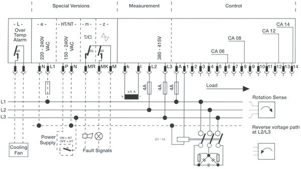 Power Factor Control Relay Blr